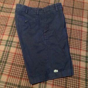 Lacoste Navy Men's Plain Front Short 30
